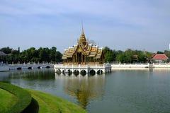 PHRA THINANG (Royal Residence) AISAWAN THIPHYA-ART Stock Photo