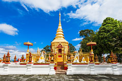 Phra That Wai Dao. Wat Phra That Wai Dao (Black Scorpion Temple) in Mae Sai, Thailand Royalty Free Stock Photos