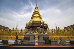 Phra Wat εκείνο το hariphunchai Στοκ φωτογραφίες με δικαίωμα ελεύθερης χρήσης