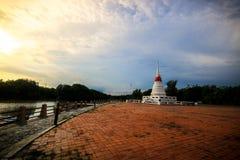 PhrachediKkangnam. The pagoda phrachediKkangnam at rayong,thailand Royalty Free Stock Photo