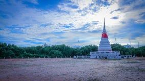 PhrachediKkangnam rayong. Mangrove water tower at rayong thailand Stock Image