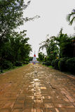 PhrachediKkangnam. At rayong thailand buatiful Royalty Free Stock Photos