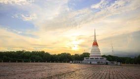 PhrachediKkangnam. Water tower Located at Tambon Pak Nam Rayong, the water tower. A pagoda bell Royalty Free Stock Photo