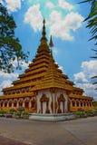 PHRAMAHATHAT KHANNAKHON of de tempel van Wat Nonwang of Nongwang- Royalty-vrije Stock Afbeeldingen