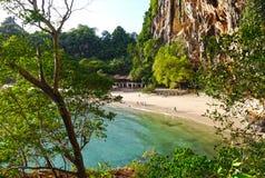 Phranang grottastrand, Thailand Arkivbilder