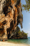 Phranang-Höhle in Thailand Lizenzfreies Stockbild