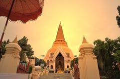 Wat Phrapathom Chedi Stock Image