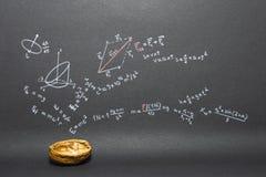 Phrasen-Physik in kurzen Worten Stockbilder