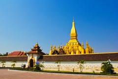 Phratat Luang Foto de archivo libre de regalías