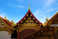 Phrathat chohae temple. Prae, Thailand Stock Photos