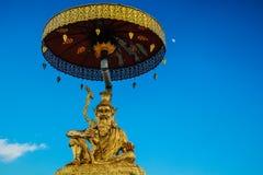 Phrathat jedee sriveangchai Lamphun Tajlandia Fotografia Stock