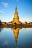 Phrathat jedee sriveangchai Lamphun Thailand Royalty Free Stock Image