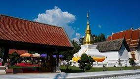 Phrathat Kham Kaen, Khonkaen, Thailand Royaltyfri Fotografi