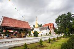 Phrathat KhamKaen на Wat Chetiyaphumin в Khonkaen, ТАИЛАНДЕ Стоковое Изображение