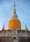 Phrathat Nadun Mahasarakham, northeast of Thailand. Ancient buddhist pagoda Royalty Free Stock Images
