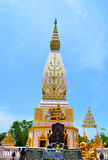 Phrathat Sajja loei thailand Royalty Free Stock Photo