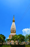 Phrathat Sajja loei thailand Stock Photo