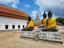 Phrathatchaiya świątynia Obrazy Royalty Free