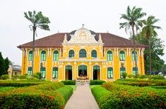 Phraya Abhaibhubate building, old building at Prachinburi provin Royalty Free Stock Image