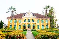 Phraya Abhaibhubate building, old building at Prachinburi provin Royalty Free Stock Photography