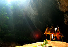 Phraya Nakhon洞。 免版税库存照片