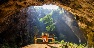 Phraya Nakhon Cave Royalty Free Stock Image