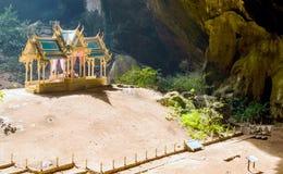 Phraya Nakhon Cave. Khao Sam Roi Yot National Park in Thailand Royalty Free Stock Photo