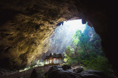 Phraya Nakhon Cave is the most popular pavilion at Stock Photo