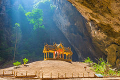 Phraya Nakhon grotta Arkivfoto