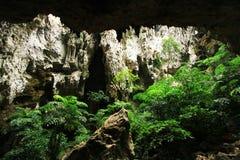 Phraya Nakhon grotta, Khao Sam Roi Yot National Park, Thailand arkivbilder