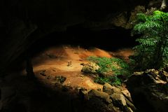 Phraya Nakhon grotta, Khao Sam Roi Yot National Park, Thailand royaltyfria bilder