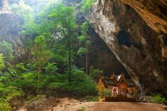 Phraya Nakorn cave Stock Photography