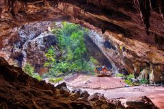Phrayanakorn jama w Prachuap Khiri Khan prowinci, Tajlandia zdjęcia stock