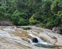 Phrom Lok Waterfall, Thailand royaltyfri fotografi