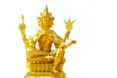 Phrom Phra или brahma, индусская статуя бога стоковые фотографии rf
