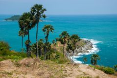 Phrom Thep Cape, Phuket Province Stock Image