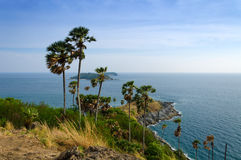 Phrom Thep cape at Phuket Royalty Free Stock Images