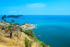 PhromThep cape, PhuKet province,Thailand Stock Photo