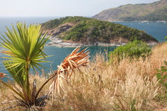Phromthep Cape. View from Promthep Cape on Phuket, Thailand Royalty Free Stock Photo