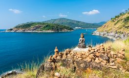 Phromthep cape viewpoint stock photos