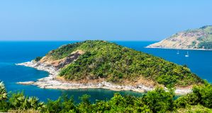 Phromthep cape viewpoint royalty free stock images
