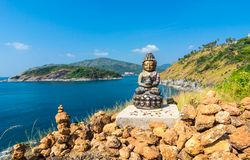 Phromthep cape viewpoint royalty free stock photography