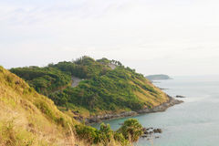 Phromthep cape viewpoint , Phuket,Thailand Stock Photo