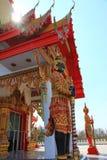 Phrong Akat tempel Arkivbild