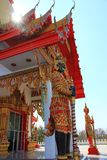 Phrong Akat Temple Stock Photography