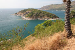 Phrothep Cape. View from Phromthep Cape on Phuket, Thailand Stock Photos