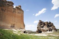 Phrygia dolina, Afyon, Turcja Obrazy Royalty Free