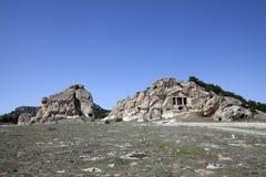 Phrygia dolina, Afyon, Turcja Zdjęcia Stock