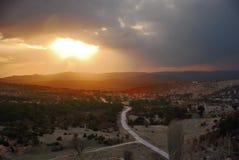 Phrygian dolina zdjęcia stock