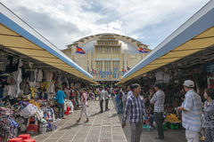 Phsar Thmei Central Market, Phnom Penh Royalty Free Stock Photo